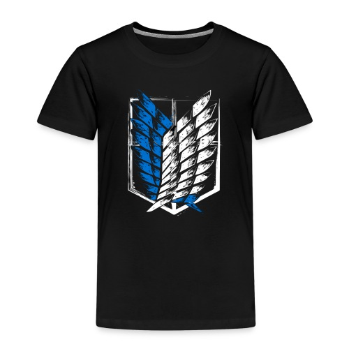 Logo Attack On Titan Brigade d'exploration - T-shirt Premium Enfant