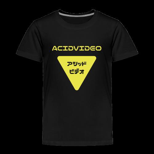 Acidvideo logo - Kids' Premium T-Shirt