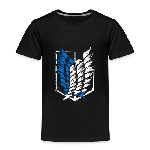 Logo Attack On Titan Brigade d'exploration - T-shirt Premium Enfant