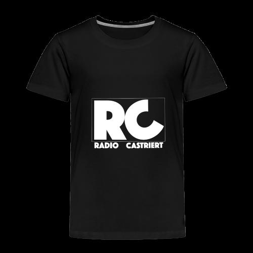 Radio CASTriert Logo 2017/2018 - Kinder Premium T-Shirt