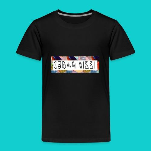 Cuban Nikki Logo - Kids' Premium T-Shirt