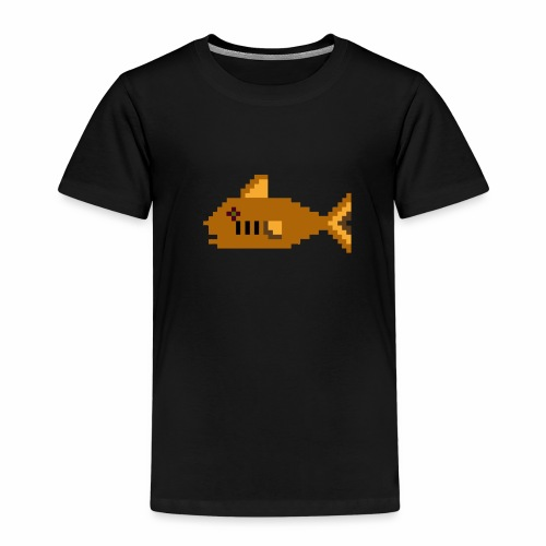 Pixel fish - Kids' Premium T-Shirt