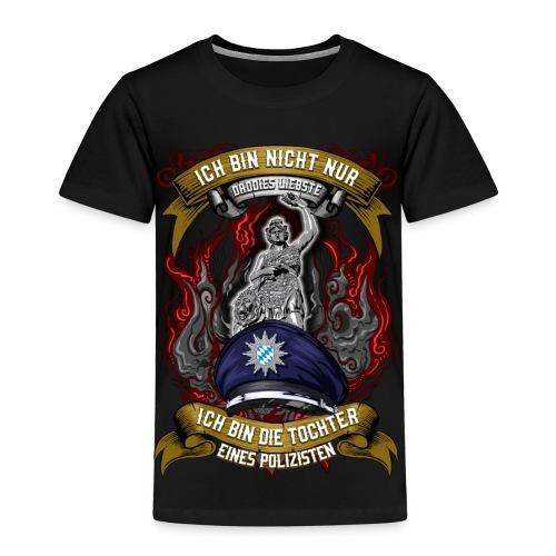 Ich Bin Nicht Nur Daddies Liebste ... Polizisten - Kinder Premium T-Shirt