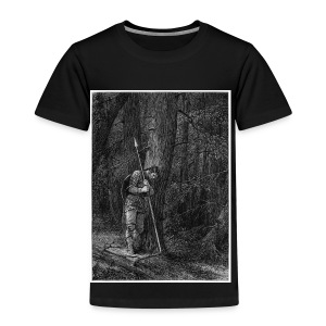 Lonely Warrior - Kinder Premium T-Shirt