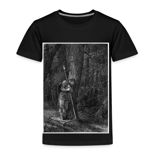 Lonely Warrior - Kinder Premium T-Shirt