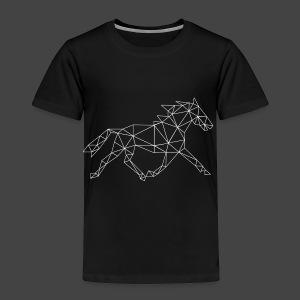 Geometrisch Paard - Kinderen Premium T-shirt