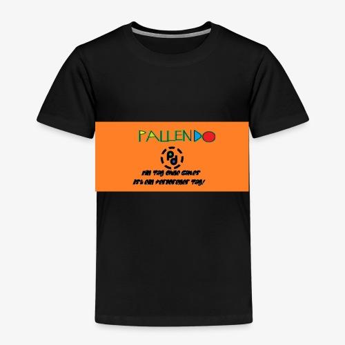 Pallendo Logo mit Schrift und Text - Kinder Premium T-Shirt