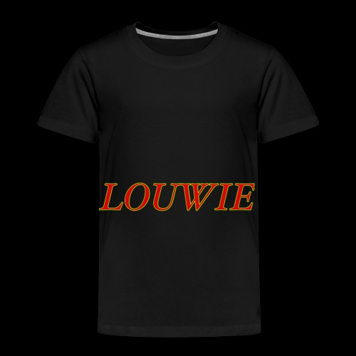 Louwie taxt - Premium-T-shirt barn