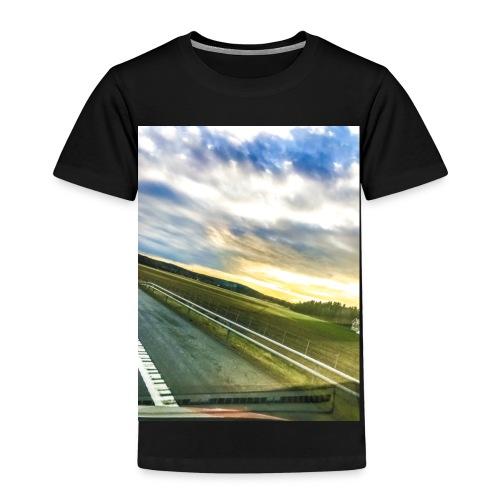 Sunset - Premium T-skjorte for barn