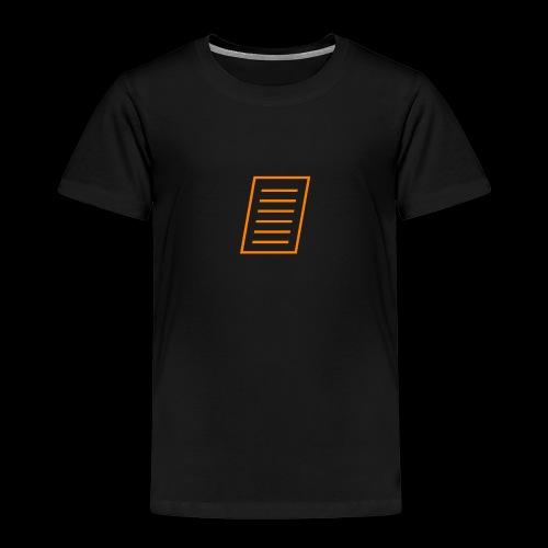 Paper - Kids' Premium T-Shirt