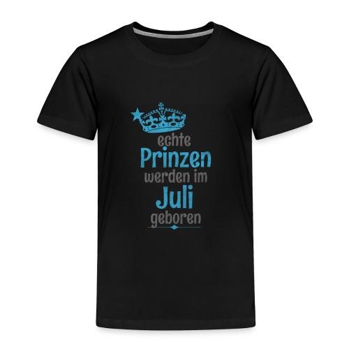 Echte Königinnen werden im Juli geboren! - Kinder Premium T-Shirt