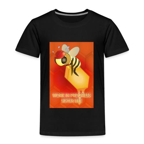 Work in progress, sister bee(RedBg) - Maglietta Premium per bambini