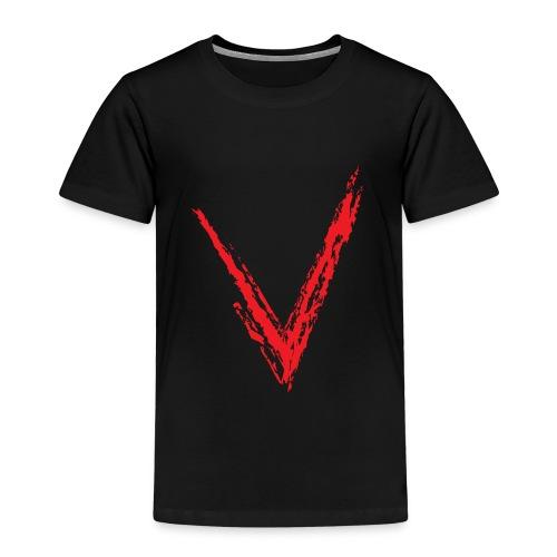 V - Camiseta premium niño