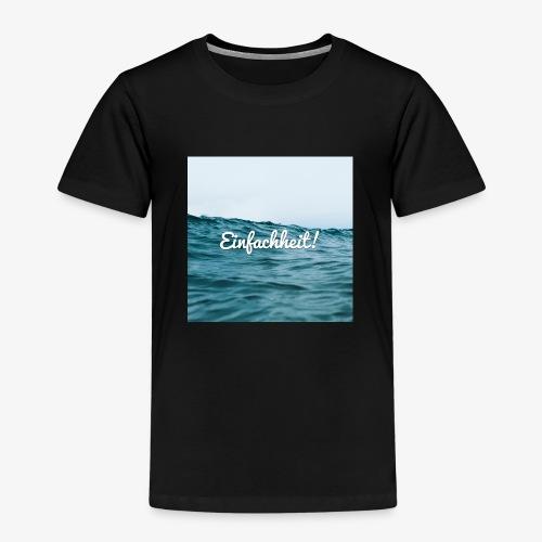 Einfachheit Meer - Kinder Premium T-Shirt