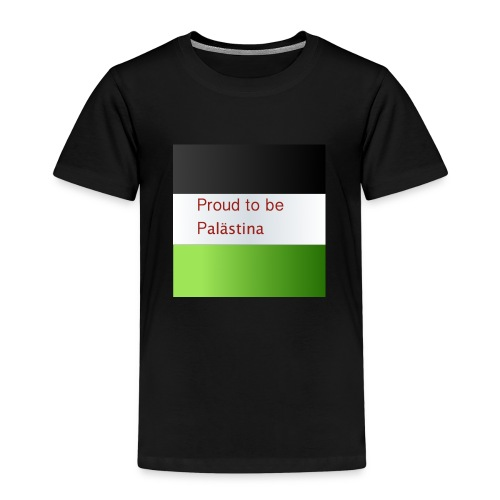 Proud to be Palästina - Kinder Premium T-Shirt