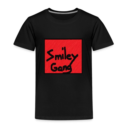 Smileygang - Premium T-skjorte for barn