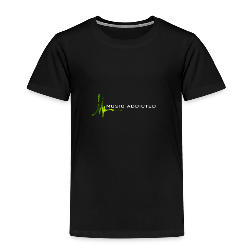 Music addicted - green - Kinder Premium T-Shirt