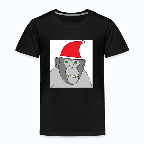 Christmas Chimp - Kinder Premium T-Shirt