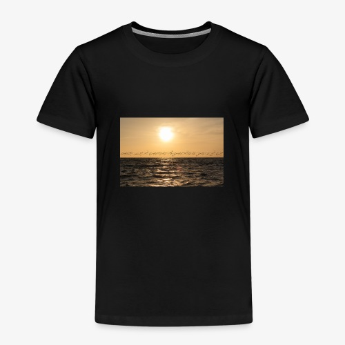 beach 01 - Kinder Premium T-Shirt