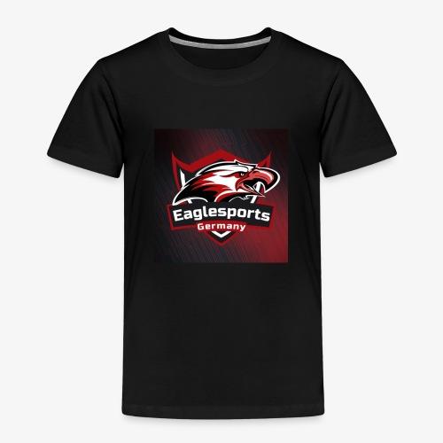 Teamlogo mit Hintergrund - Kinder Premium T-Shirt