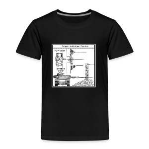 WOT War tactic, tank shot - Kids' Premium T-Shirt