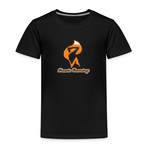 foxxie gaming logo 2 - Kids' Premium T-Shirt