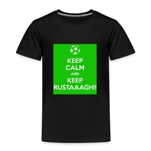 Keep calm and keep rustaaagh! - Kinderen Premium T-shirt