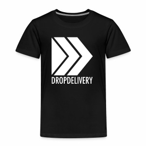 DropDelivery Main Collection - White - Kinder Premium T-Shirt