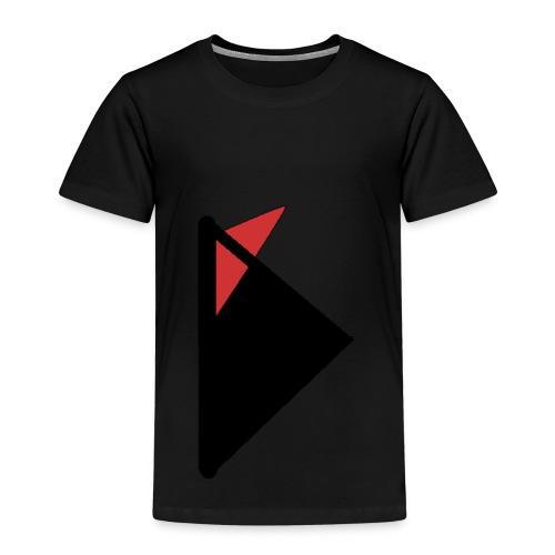 Triangulo con cola. - Camiseta premium niño