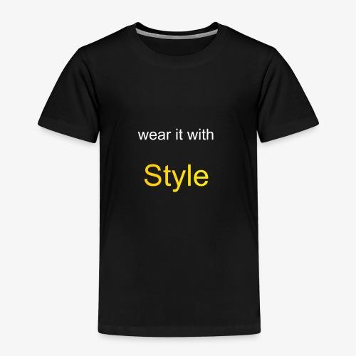 Style - Kinder Premium T-Shirt