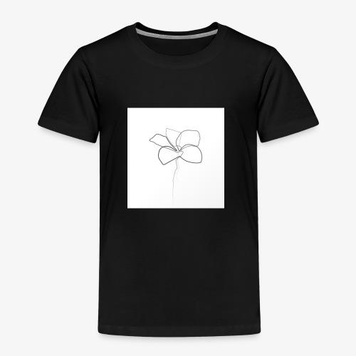 Flower - Børne premium T-shirt