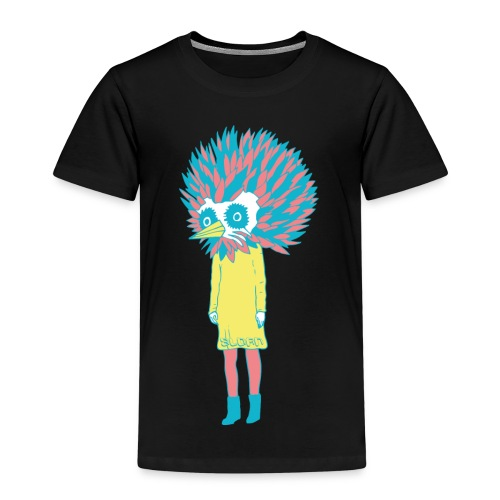 sloan bird girl - Kinder Premium T-Shirt