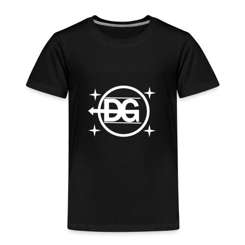 DG logo weiß - Kinder Premium T-Shirt
