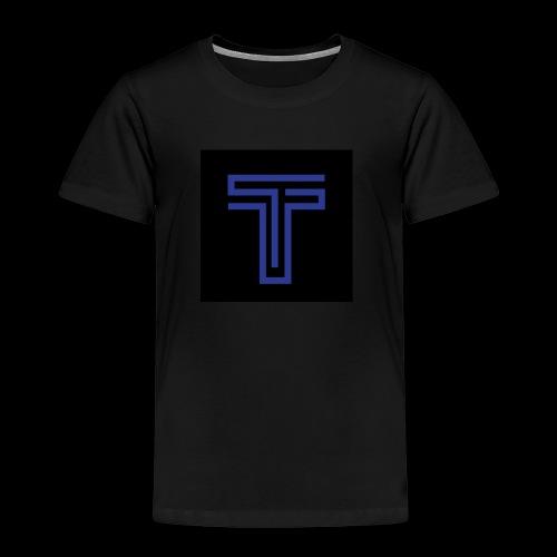 YT logo design - Kids' Premium T-Shirt