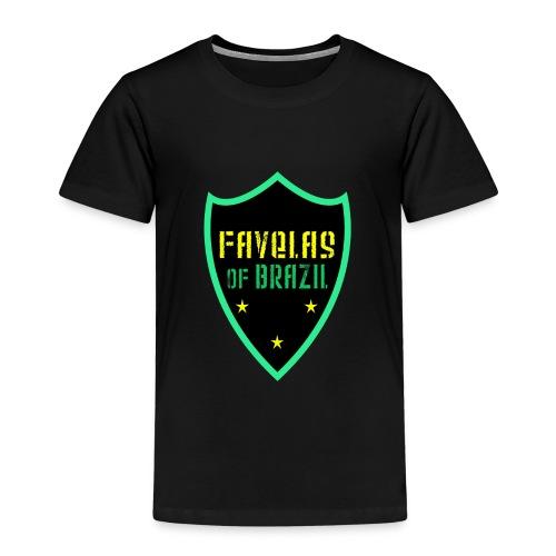 FAVELAS OF BRAZIL NOIR VERT DESIGN - T-shirt Premium Enfant