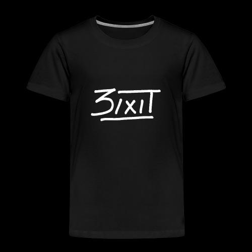 signature blanc - T-shirt Premium Enfant