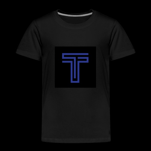 YT logo design - Kids' Premium T-Shirt