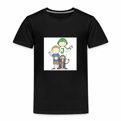 Job & Jelle | Broertjes - Kinderen Premium T-shirt