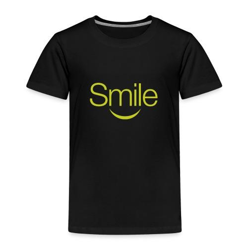smile word gruen - Kinder Premium T-Shirt