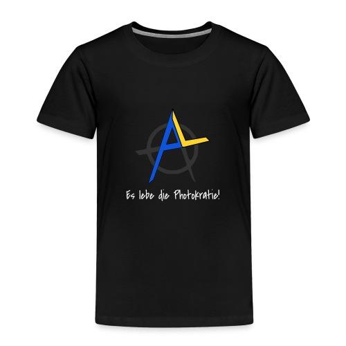 Es lebe die Photokratie! Solarzellen & Revolution! - Kinder Premium T-Shirt