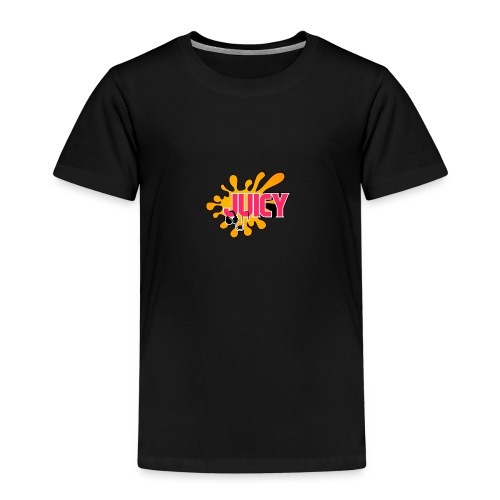 DJ JUICY LOGO - Kinder Premium T-Shirt