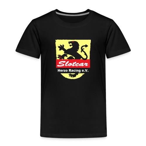HR Logo Transparent (für schwarze Hintegründe) - Kinder Premium T-Shirt