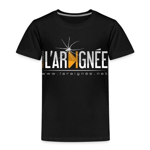 L'Araignée, le logo clair pour fond foncés - T-shirt Premium Enfant