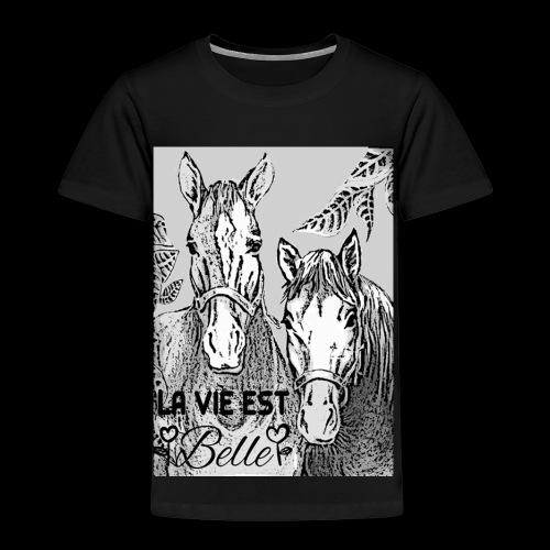 LA VIE EST BELLE - T-shirt Premium Enfant
