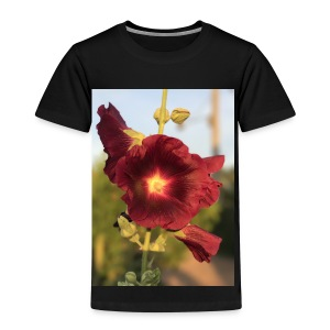 Red Hollyhock - Kids' Premium T-Shirt