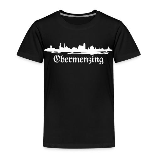 Obermenzing Skyline (Fraktur) - Kinder Premium T-Shirt