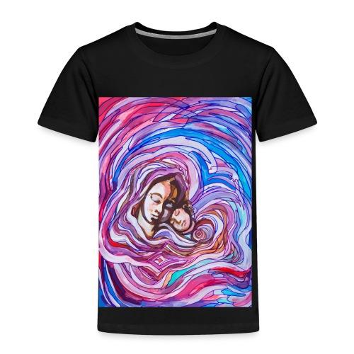 Heilige Mutter mit Kind - Kinder Premium T-Shirt