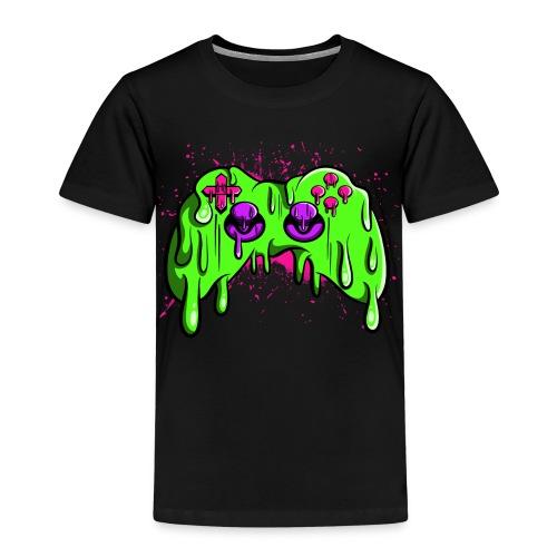 Controller geschmolzen - Kinder Premium T-Shirt