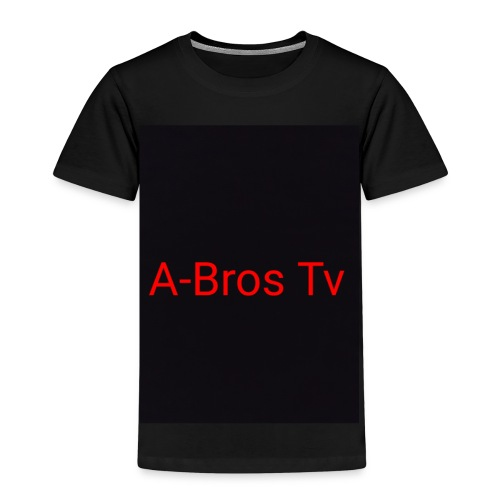 A-Bros Tv red - Kinder Premium T-Shirt