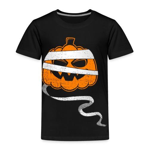 Halloween Bandaged Pumpkin - Kinder Premium T-Shirt
